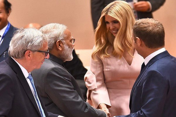 Ivanka Trump Arrives In India To Attend Global Business Summit