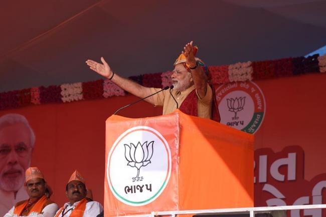 PM Modi arrives in Dharoi Dam, on way to Ambaji Temple