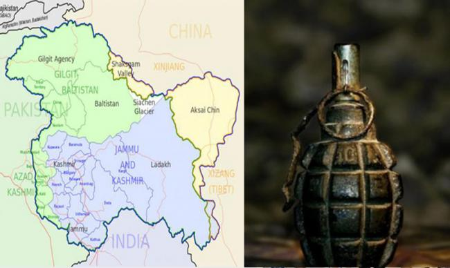 Kashmir: Eight civilians, two security men wounded in grenade attack