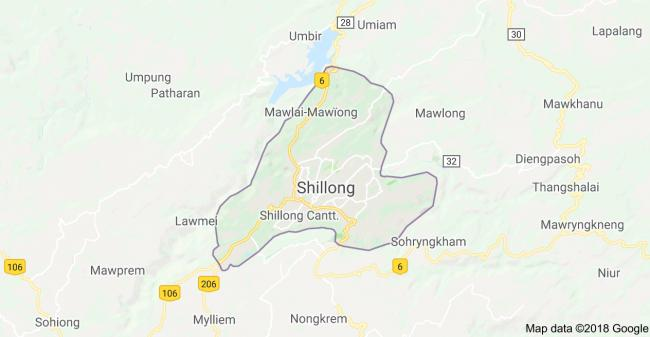 Shillong selected as the 100th smart city