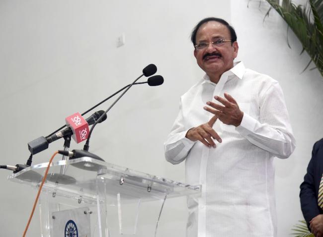 Make India the international capital for Generic Medicines: Vice President Naidu