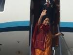 Sushma Swaraj leaves for Thailand, Indonesia, Singapore