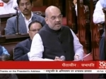 BJP president Amit Shah highlights 'achievements' of the Modi government in his maiden speech at the Rajya Sabha