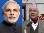 Nepal PM Oli meets Narendra Modi for delegation-level talks