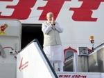 PM Modi arrives in Russia for informal summit with Vladimir Putin