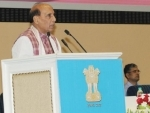 Rajnath Singh attends passing out parade of CRPF Battalion in Chhattisgarh