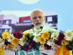 PM Modi interacts with beneficiaries of central government health care schemes