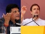 Piyush Goyal calls Rahul Gandhi 'merchant of hate' hitting out over Alwar lynching