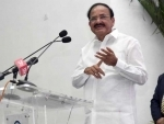 Leave the politics outside the Parliament and do your best for framing policies: Vice President Naidu