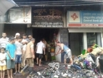 Assam : Three people, including 18-month-old, die in fire in commercial building