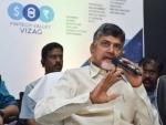 Andhra Pradesh CM N Chandrababu Naidu congratulates K Chandrasekhar Rao over Telangana victory