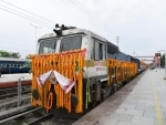 New weekly train between Dibrugarh, Silchar flagged off