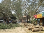 West Bengal: TMC accused of assaulting Visva Bharati students who protested against cutting of trees