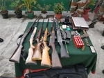 Nagaland: Assam Rifles nabs two NSCN (K) militants and recovers huge cache arms
