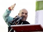 Amit Shah congratulates Tripura's CM elect Biplab Kumar Deb