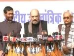 BJP, JD-U will contest 17 LS seats each in Bihar, 6 left for Paswan's LJP