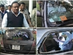 TMC supporters allegedly vandalize BJP leader's car in WB