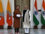 Bhutan PM Lotay Tshering holds delegation level talks with Modi