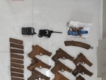 21 pistols, magazines of GNLA recovered in Meghalaya