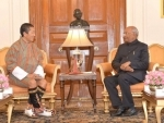 Prime Minister of Bhutan calls on Indian President Kovind