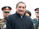 Goa CM Manohar Parrikar congratulates Amit Shah, Prime Minister Narendra Modi over Tripura victory