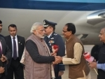 PM Modi arrives at Tekanpur, attends Conference of DGsP and IGsP
