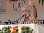 PM Modi inaugurates Health and Wellness Centre to mark the launch of Ayushman Bharat in Bijapur