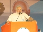 Congress only thinks about one particular family, says Narendra Modi in Karnataka