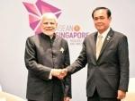 Narendra Modi meets Thailand PM in Singapore