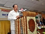 All Universities should teach various subjects including Science and Technology in their respective mother tongues: Vice President Naidu
