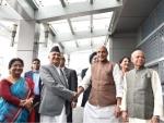 Nepal Prime Minister KP Sharma Oli arrives in India