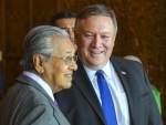 Mike Pompeo meets Malaysian Prime Minister Mahathir Mohamad
