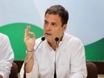 Rahul Gandhi congratulates party workers, leaders over Karnataka by-polls results