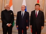 PM Modi, Putin, Xi meet for RIC meeting