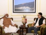 MP and Chairman of Bangladesh Tariqat Federation meets MoS (Home) Kiren Rijiju