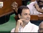 Rahul Gandhi's hug, wink keep Twitter buzzing