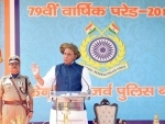 Rajnath Singh attends CRPF's 79th Raising Day Parade