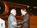 Prime Minister Narendra Modi arrives in Sweden