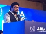 Babul Supriyo threatens man to break his legs at an event for differently-abled, triggers row