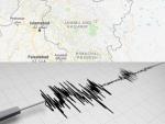 Earthquake hits Kashmir
