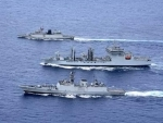 Eastern fleet ships underway to Guam, USA for exercise Malabar 2018