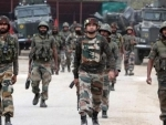 Kashmir: Encounter between terrorists and security forces underway