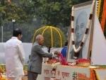 President pays floral tributes to Sardar Vallabhbhai Patel on birth anniversary