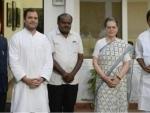 Kumaraswamy meets Rahul, Sonia to discuss Karnataka government formation
