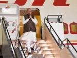 Narendra Modi arrives in Japan