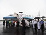 Prime Minister Narendra Modi arrives in Kochi, to take aerial survey of flood-hit parts of Kerala today