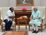 Karnataka CM Kumaraswamy meets PM Modi in Delhi