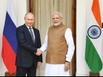 PM Modi meets Russian President Vladimir Putin at Hyderabad House