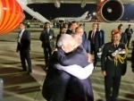 PM Modi leaves for India after holding informal meeting with Vladimir Putin in Russia