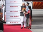 PM Modi returns to country after concluding three-nation tour